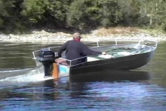 Fishing dinghy