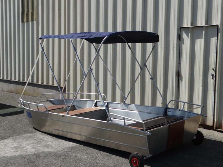 fishing dinghy - sun bimini (10)