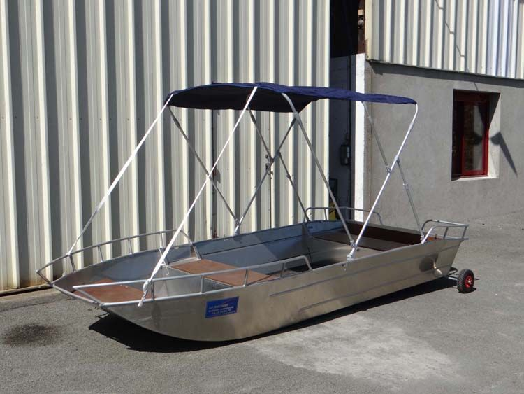 fishing dinghy - sun bimini (9)