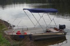 fishing dinghy - sun bimini (5)