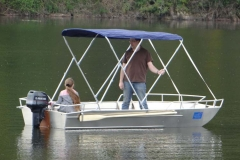 fishing dinghy - sun bimini (7)