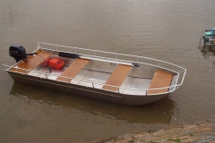 fishing aluminium dinghy (1)