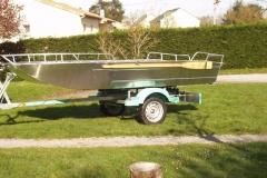 Light fishing boat