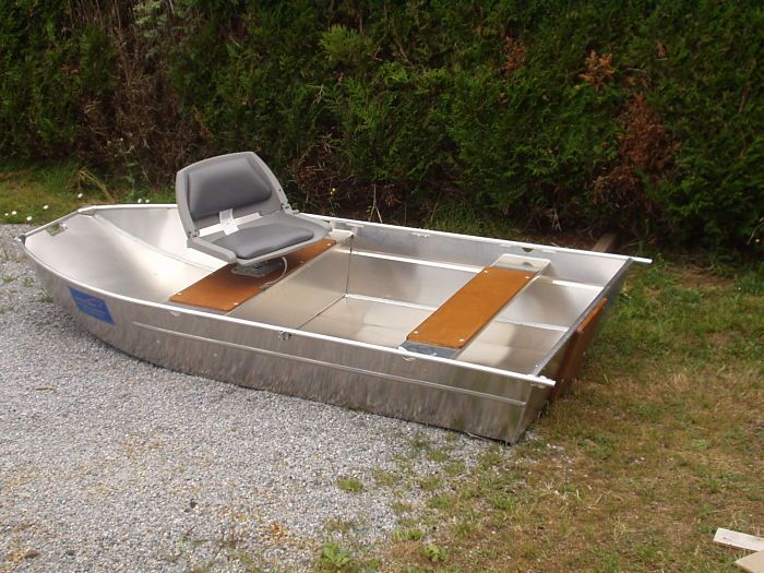 Aluminium boat - Welded aluminium boat - Lightweight dinghy - Alu tender - dinghy- fishing small boat - alu dinghy - boats - boat - small boat - tender